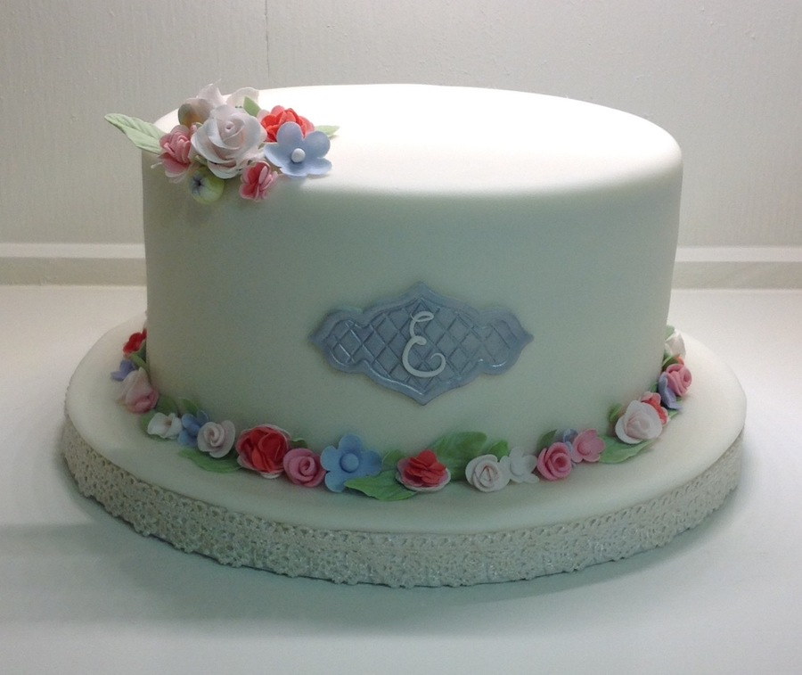Flower Border on Cake Central