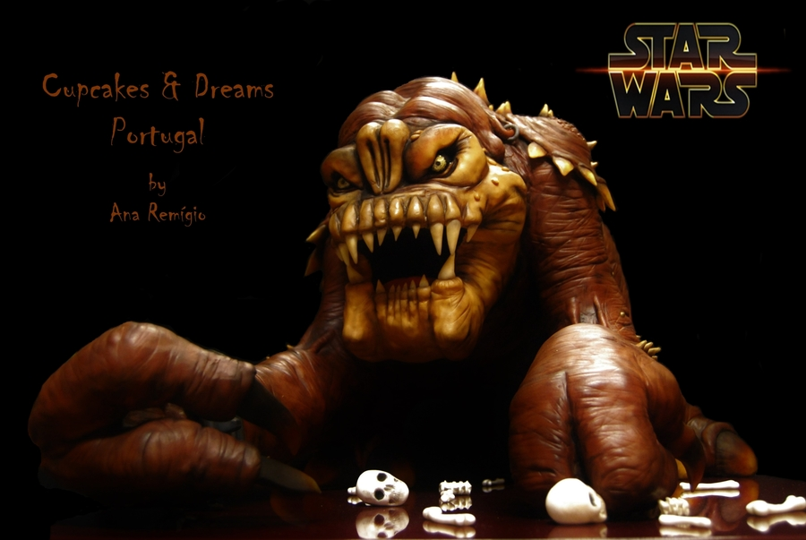 Star Wars - Rancor on Cake Central
