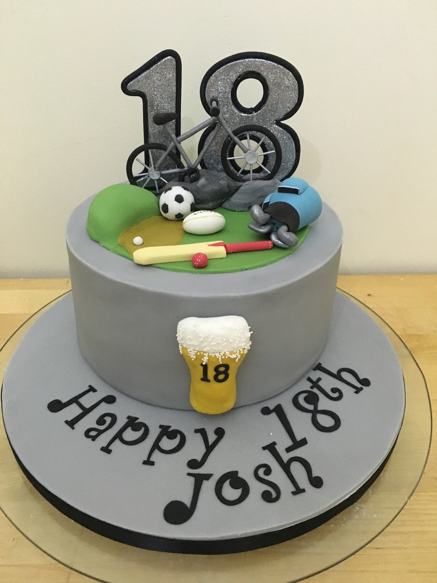 18th Birthdy Cake Cakecentral Com