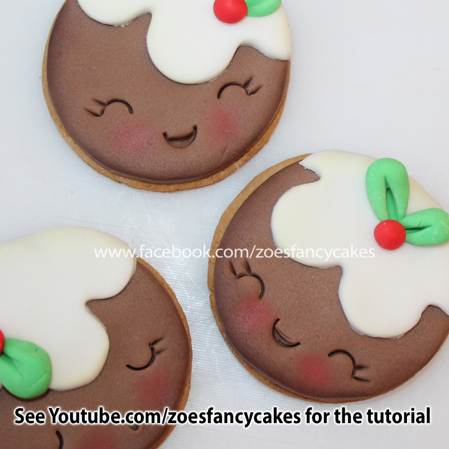 Christmas Pudding Cookies Cakecentral Com