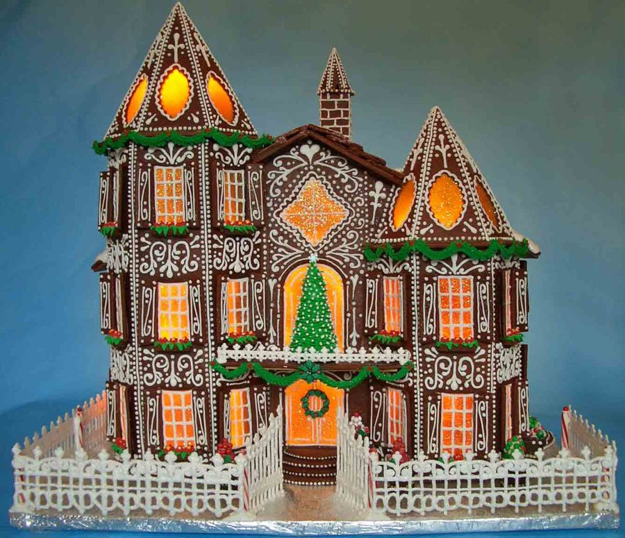 Gingerbread house 2015 for Cool designs for gingerbread houses