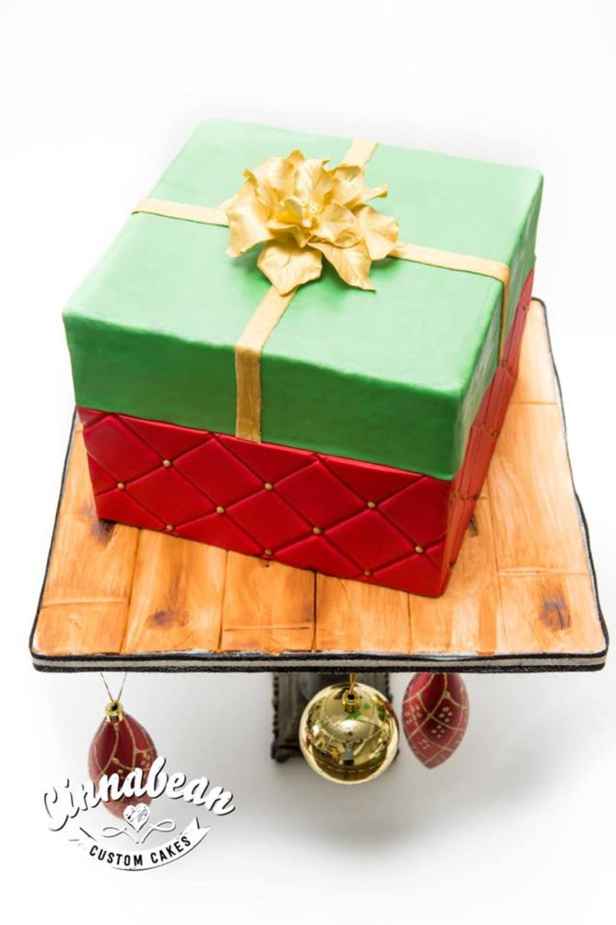 Christmas Present Cake on Cake Central