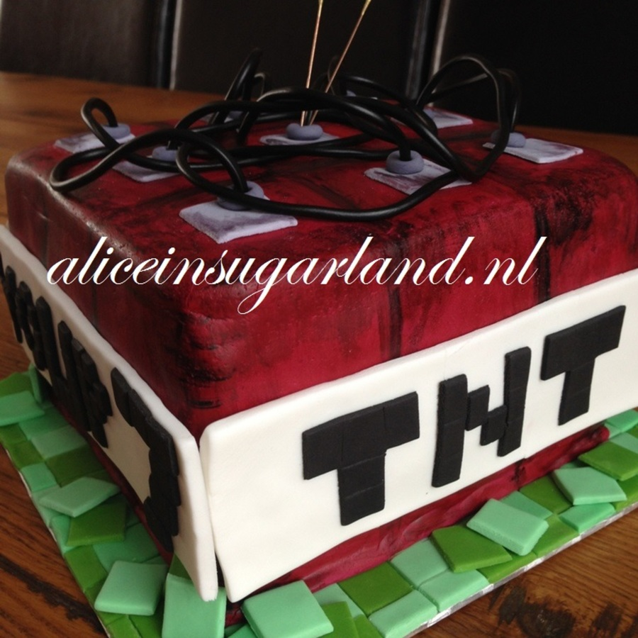 Minecraft Tnt Cake Cakecentral