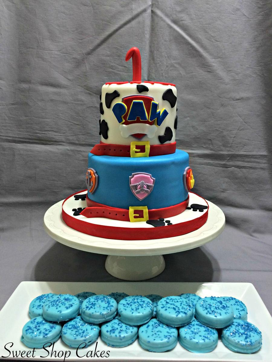 Paw Patrol Themed Birthday Cake Oreos Cakecentral Com