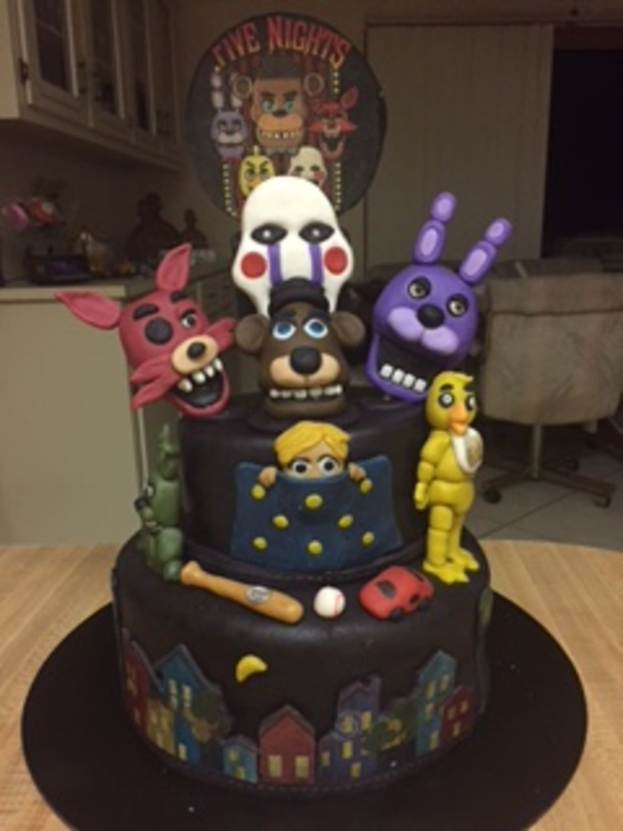 Five Nights At Freddys CakeCentralcom