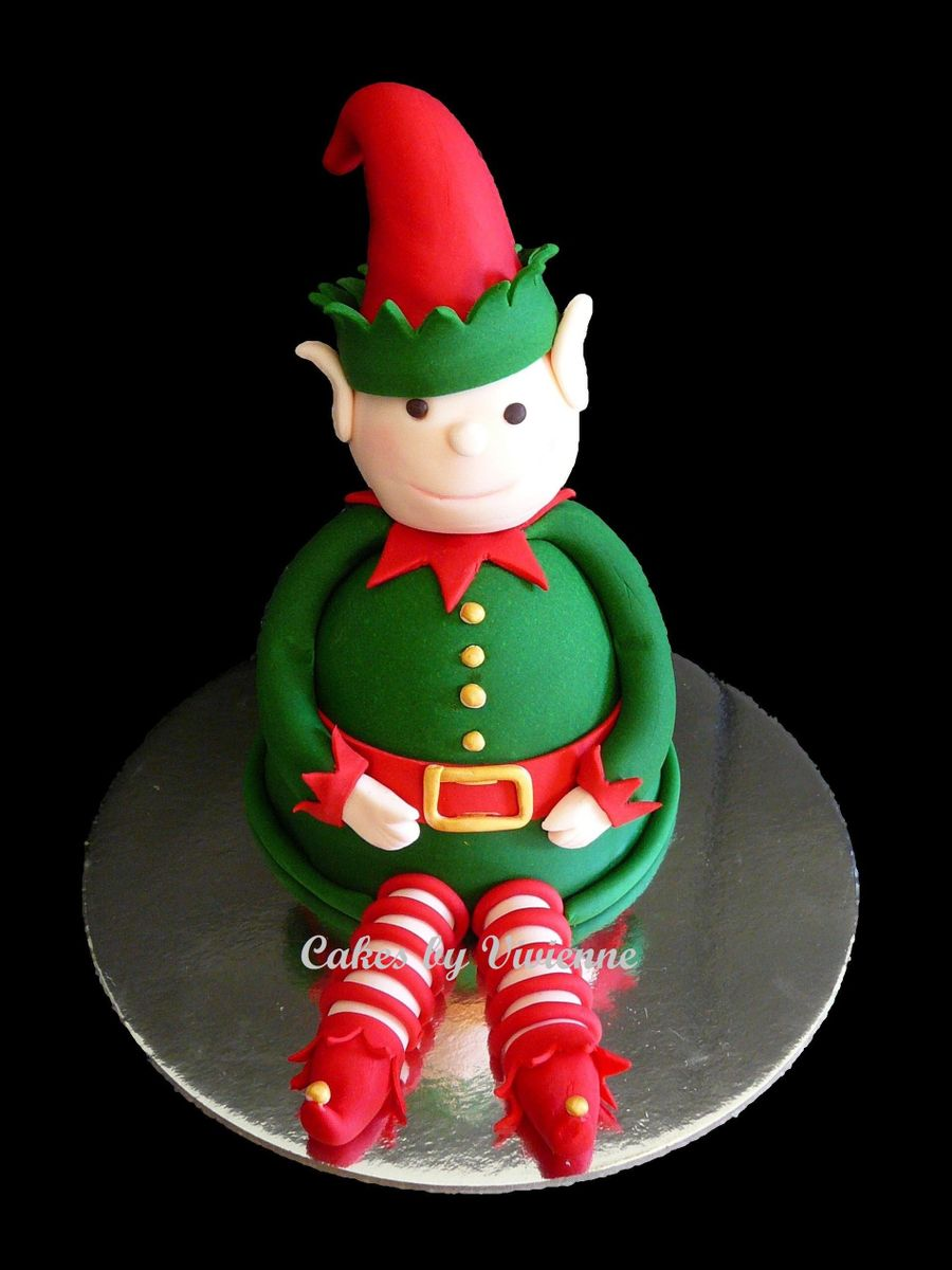 Christmas Elf Cake on Cake Central