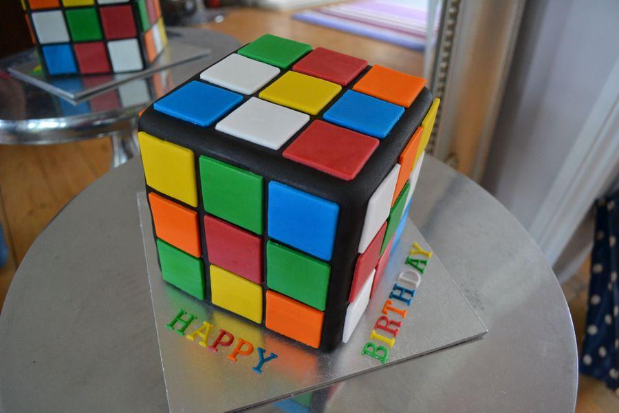 rubiks cube cake cakecentral com