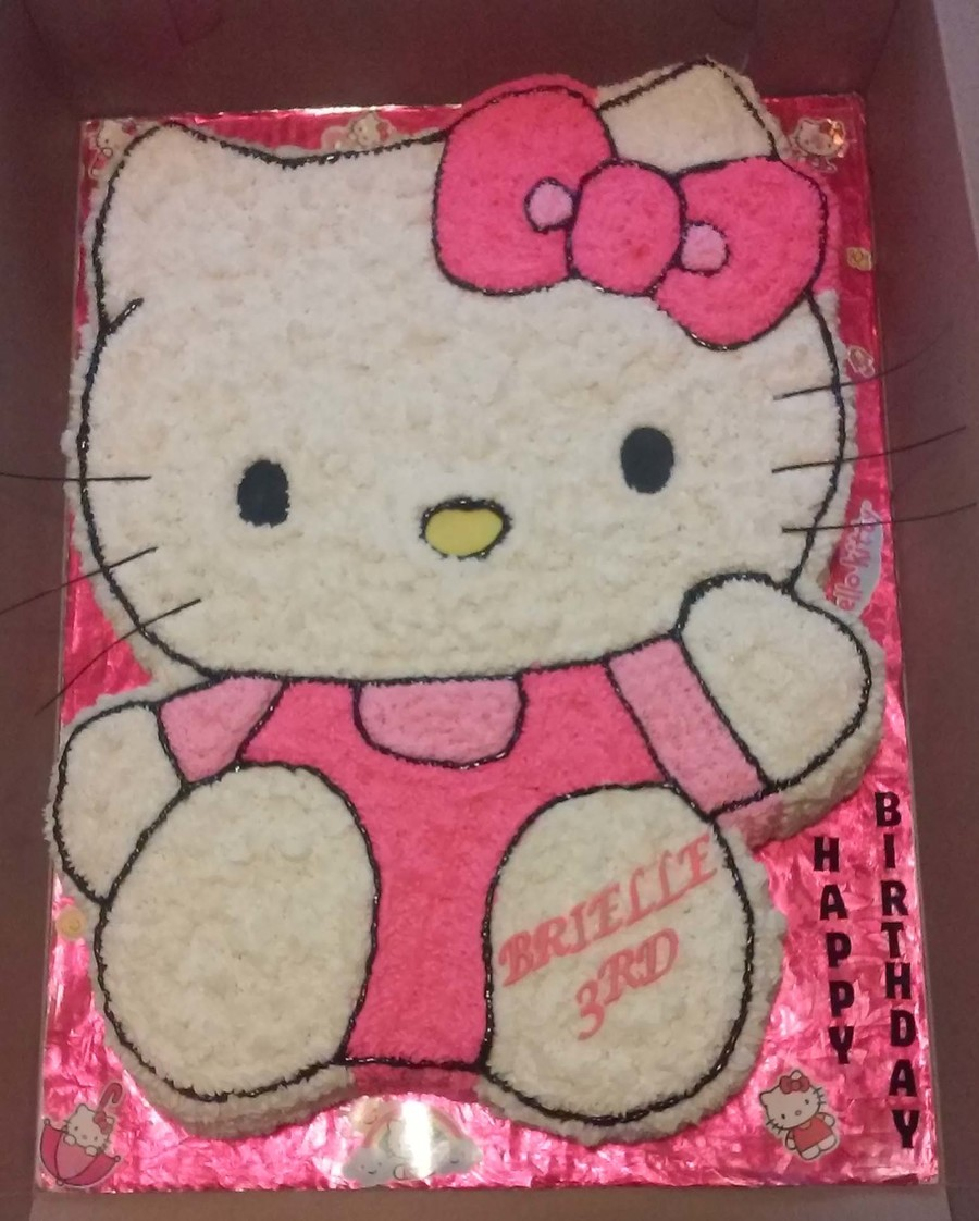 Full body hello kitty cakecentral full body hello kitty on cake central voltagebd Choice Image