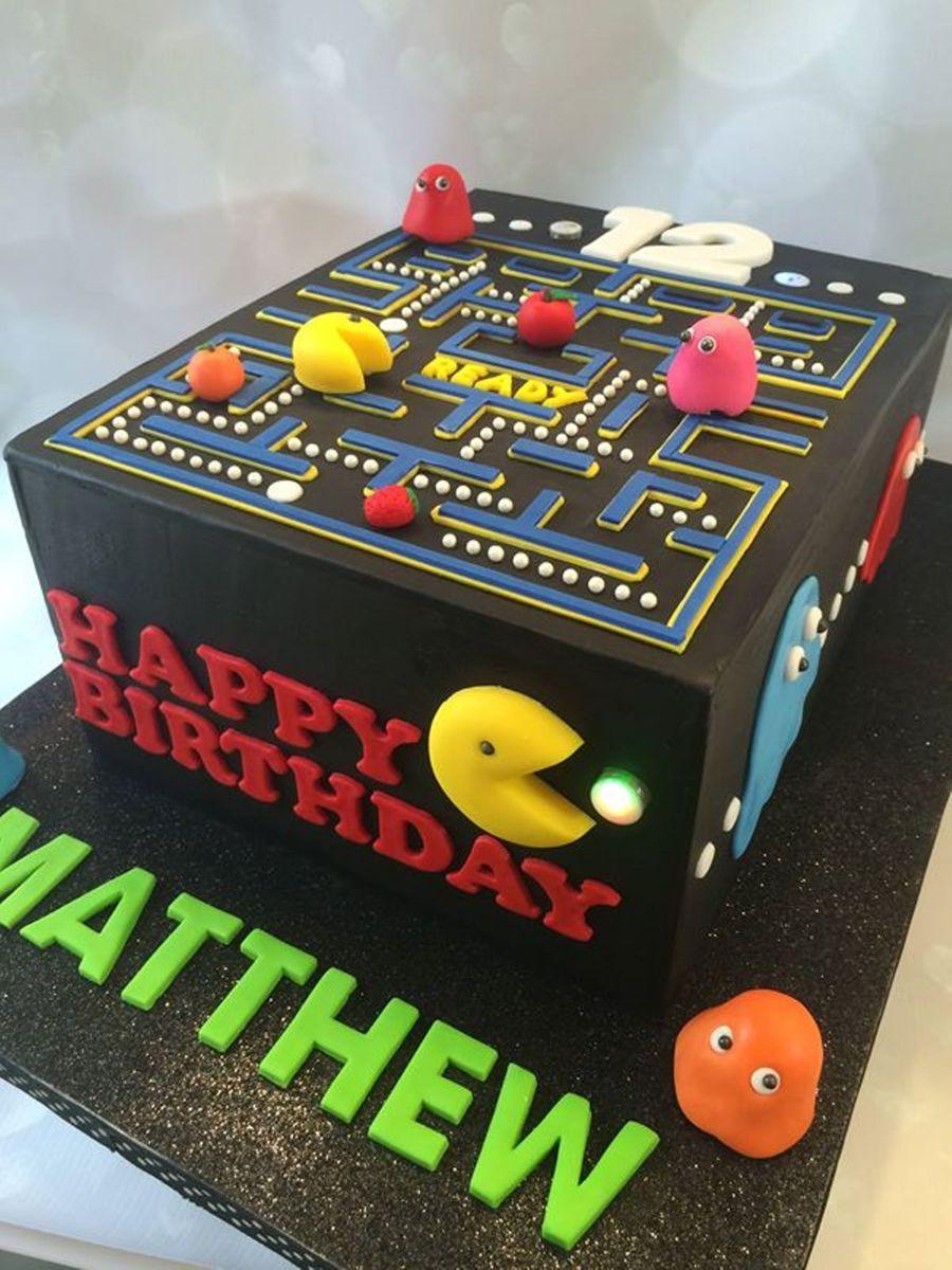 Pacman Birthday Cake Cakecentral Com