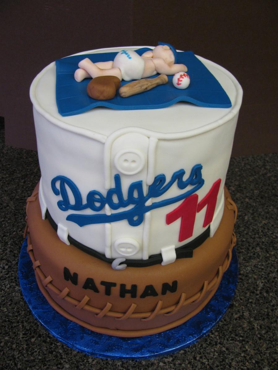 Los Angeles Dodgers Cake
