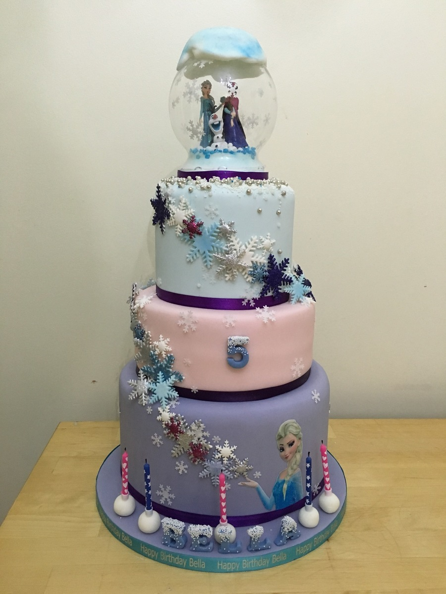 Frozen 3 Tier Cake Cakecentral Com