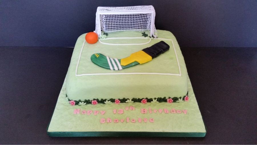 A Hockey Cake For A Mirfield Customer. on Cake Central