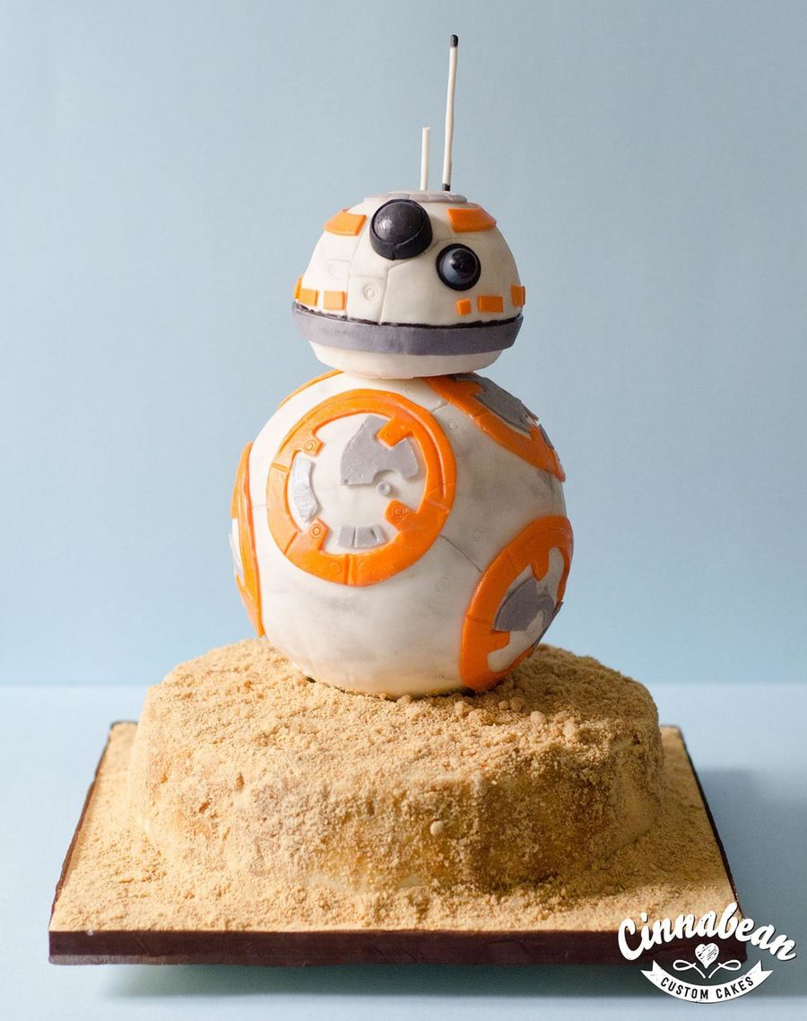 Star Wars - Bb8 on Cake Central