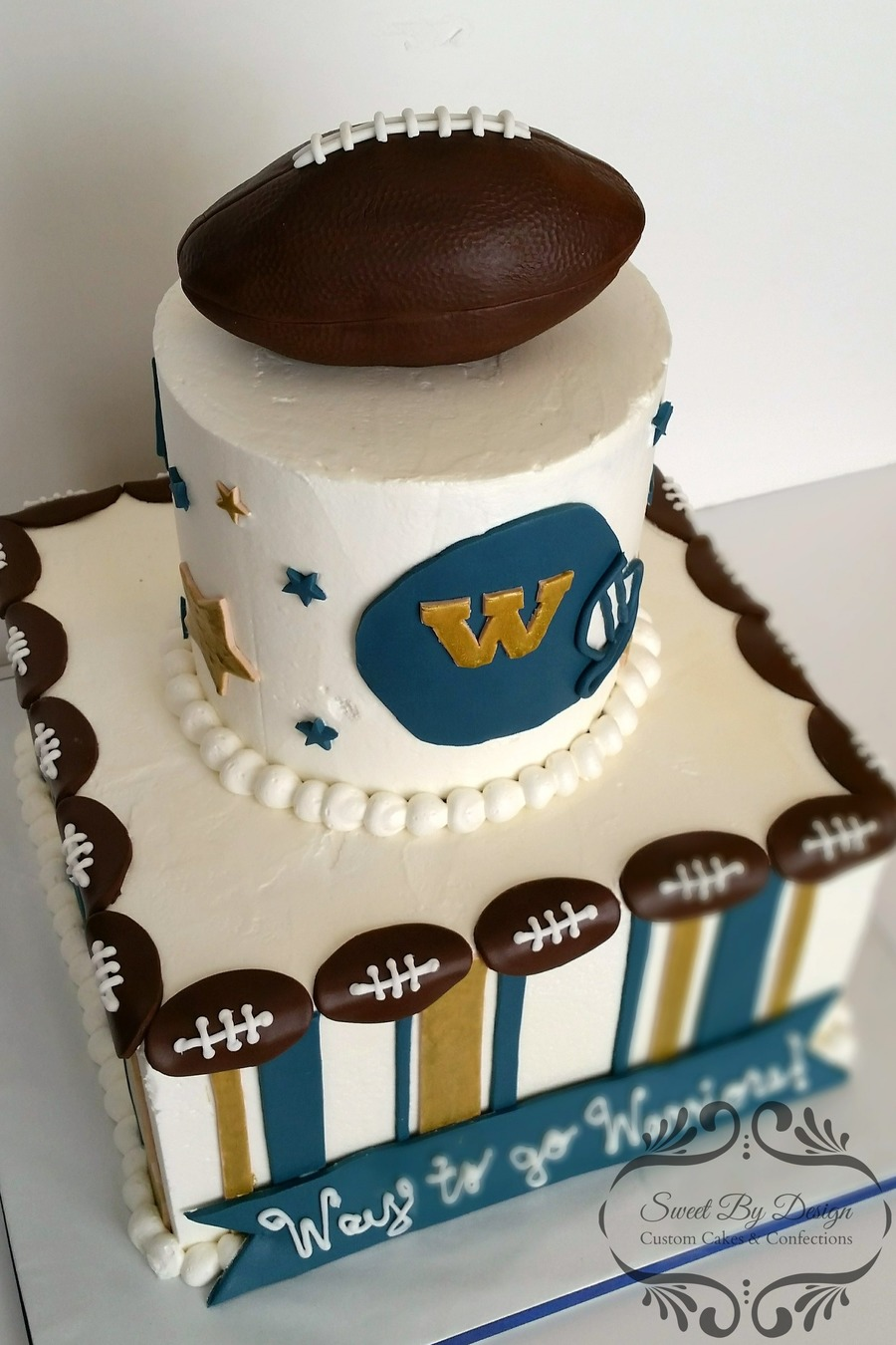 Football Cake Topper On Central