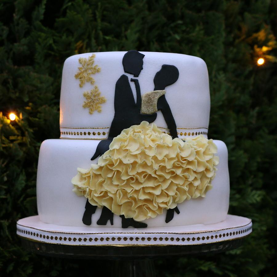 Ballroom Dancing Cake Images