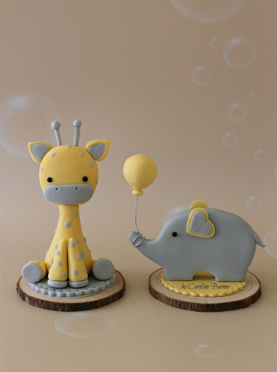 Giraffe Birthday Cake Topper