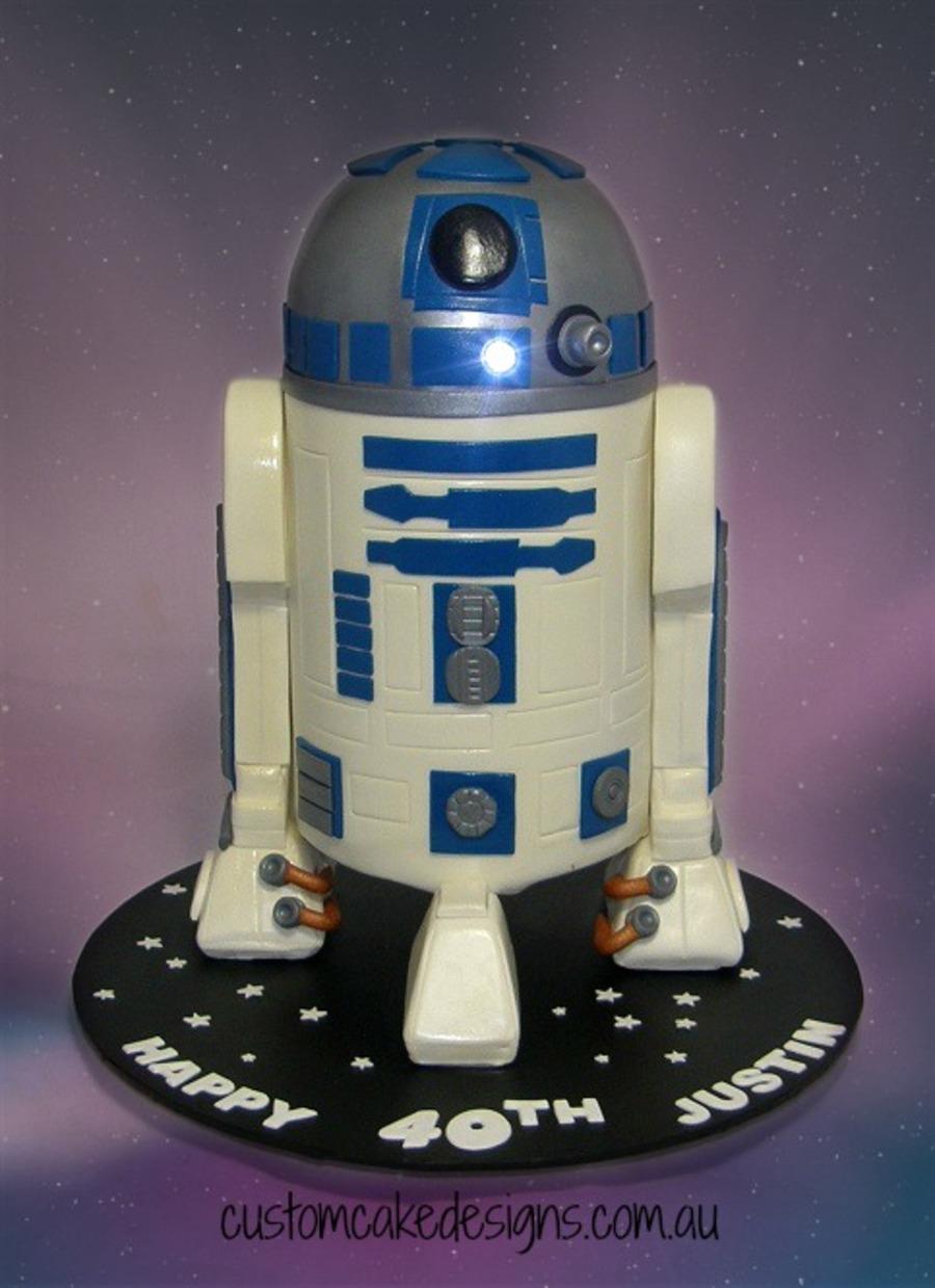 R2d2 Star Wars Cake Cakecentral Com