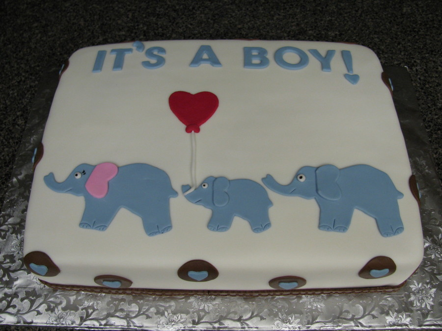 It S A Boy Baby Shower Cakes Cakecentral Com