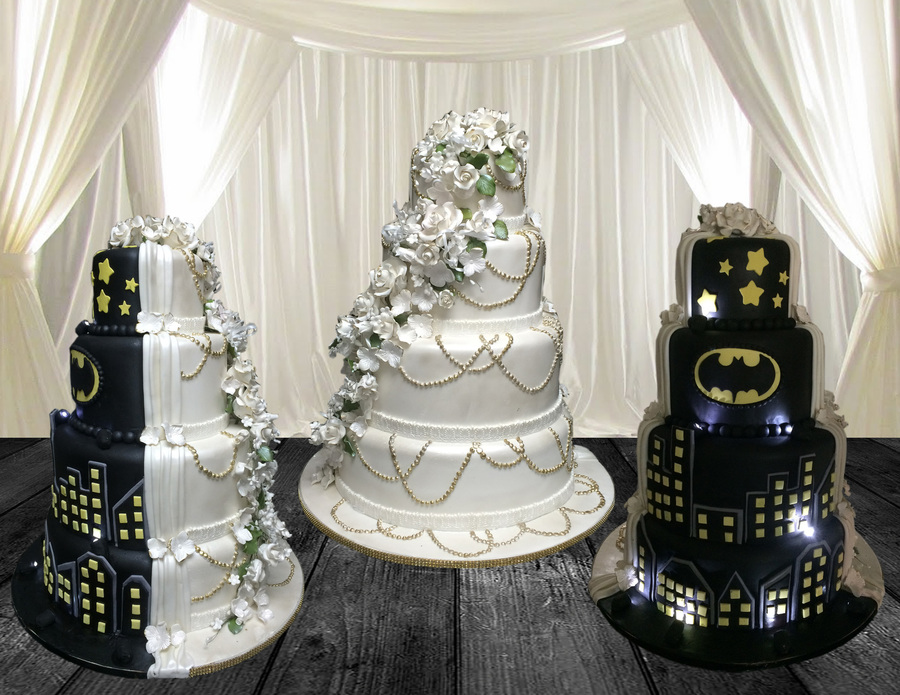 Black U0026 White Wedding Cake On Cake Central