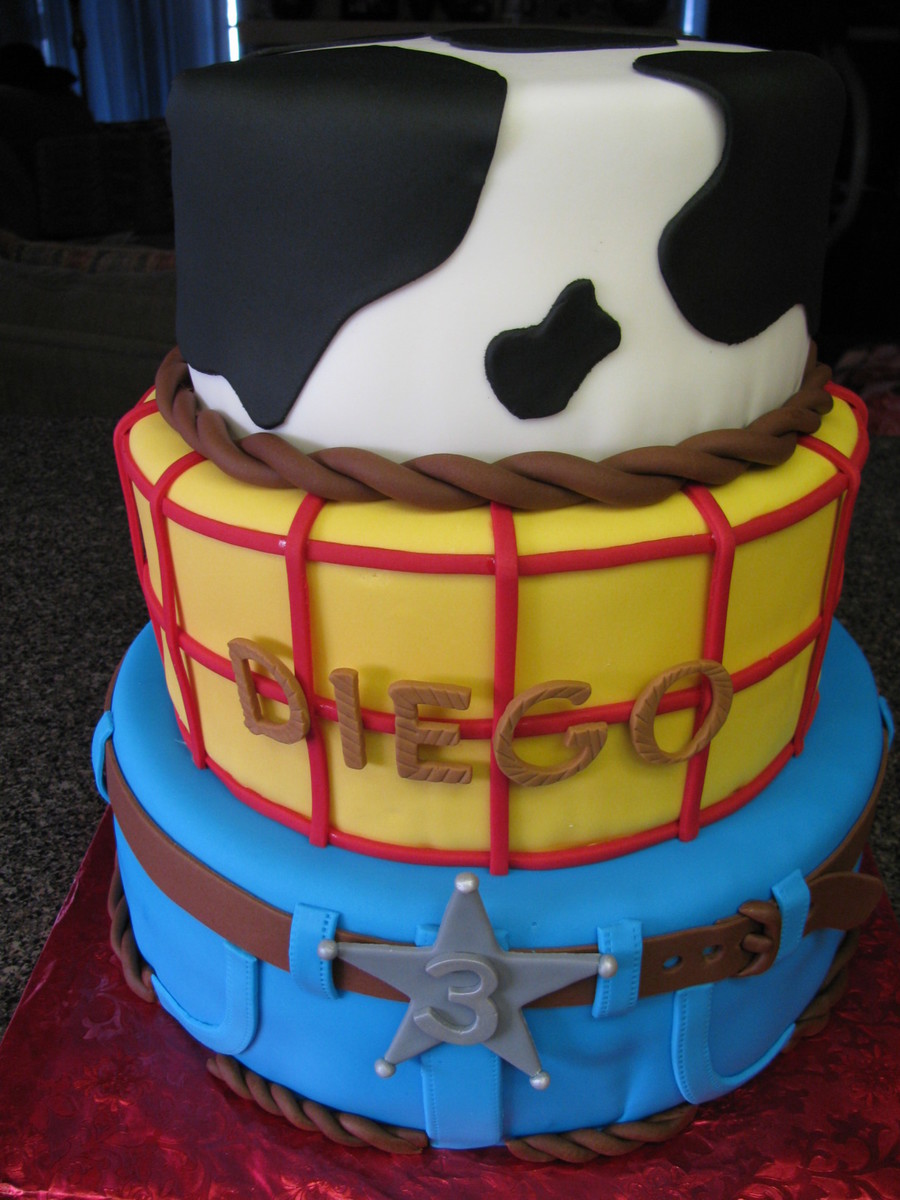 Toy Story Wood Birthday Cake Cakecentral