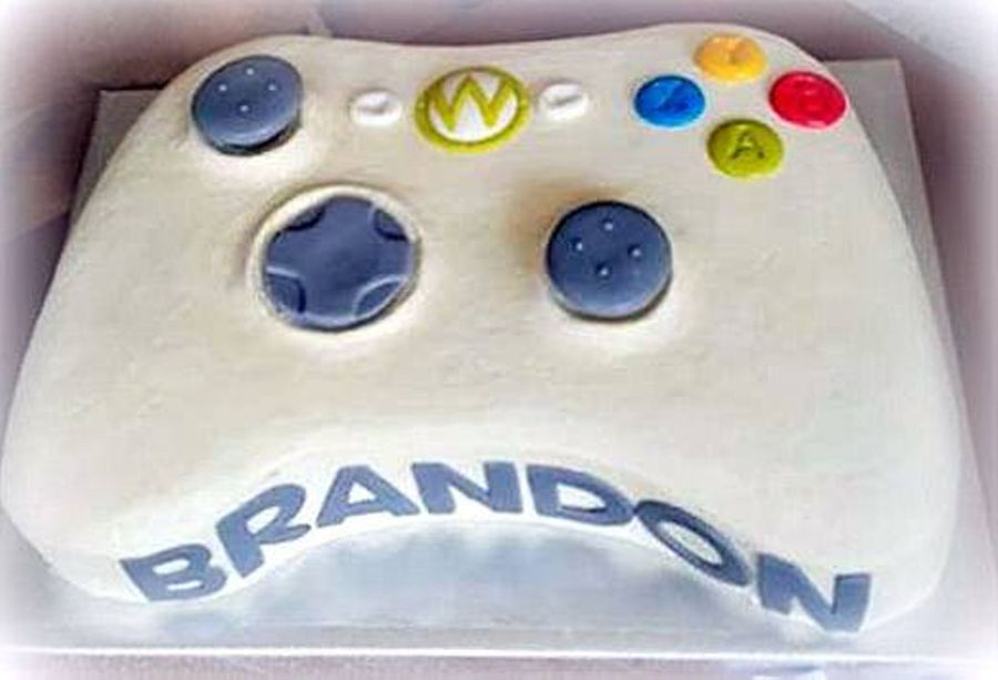 Game Controller Cake On Central