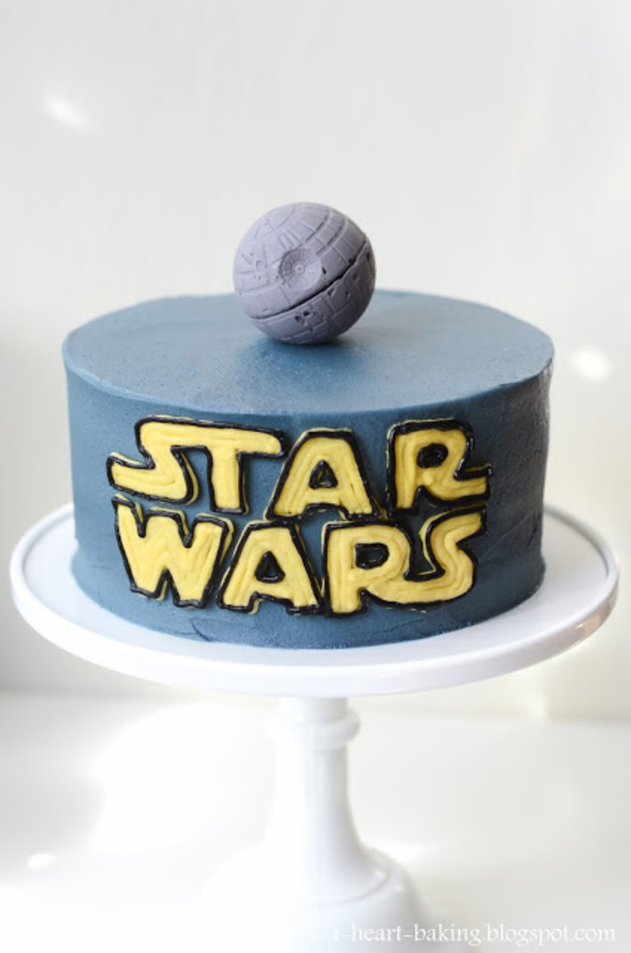 Star Wars Cake With Handmade Chocolate Death Star on Cake Central
