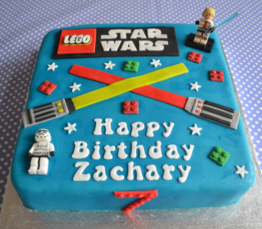 Lego Star Wars Birthday Cake Cakecentral Com