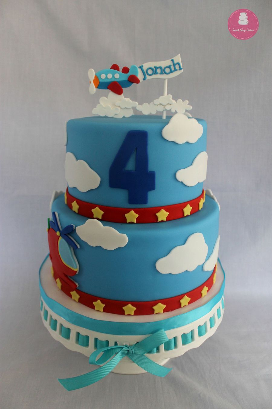 Airplane Cake Decorating Photos