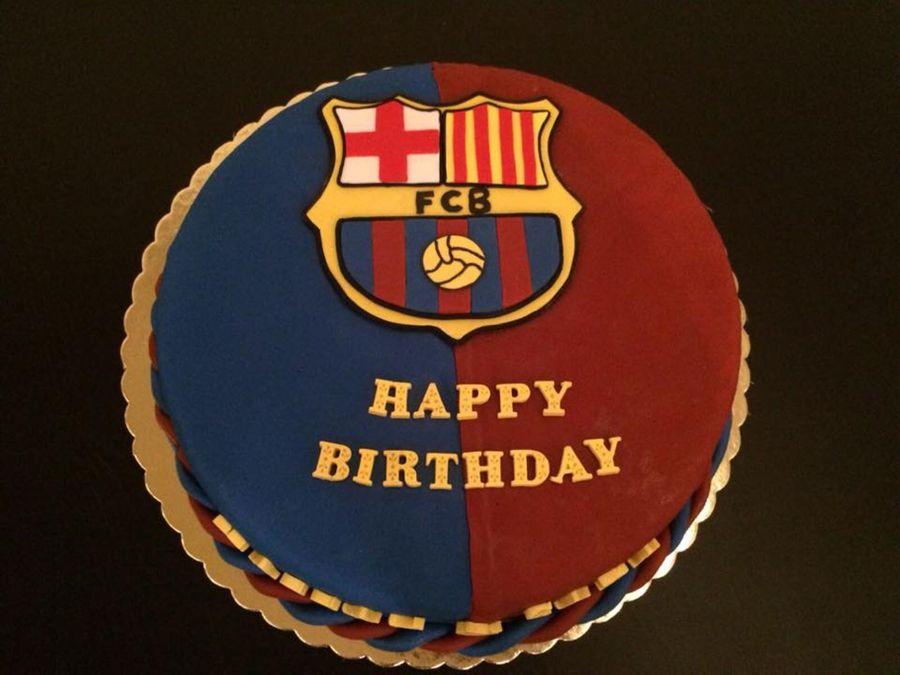 Happy Birthday Cake Fc Barcelona