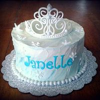 Ice Princess cake