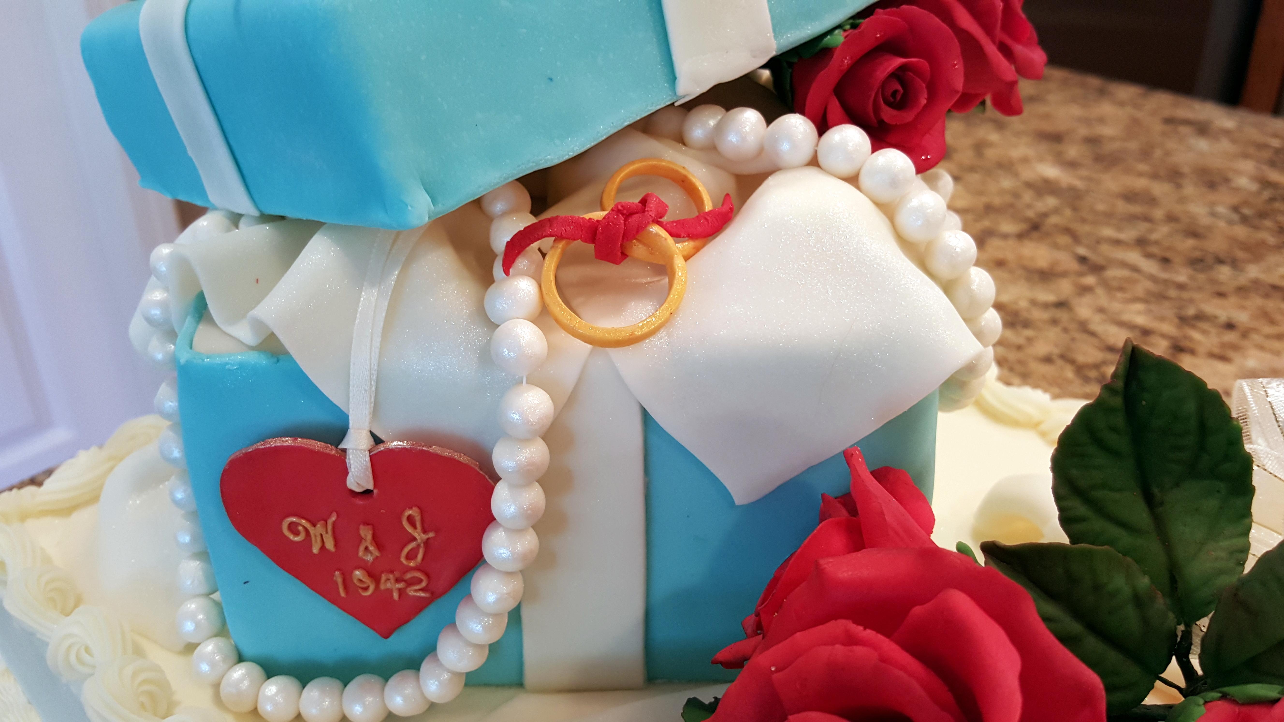 Cake Gift Box Fondant : Gift Box Cake - CakeCentral.com