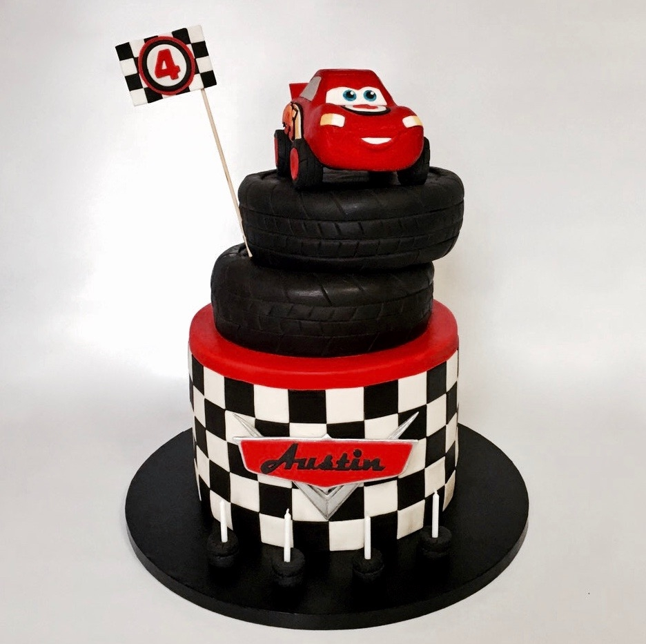 Lighting Mcqueen Cake Ideas