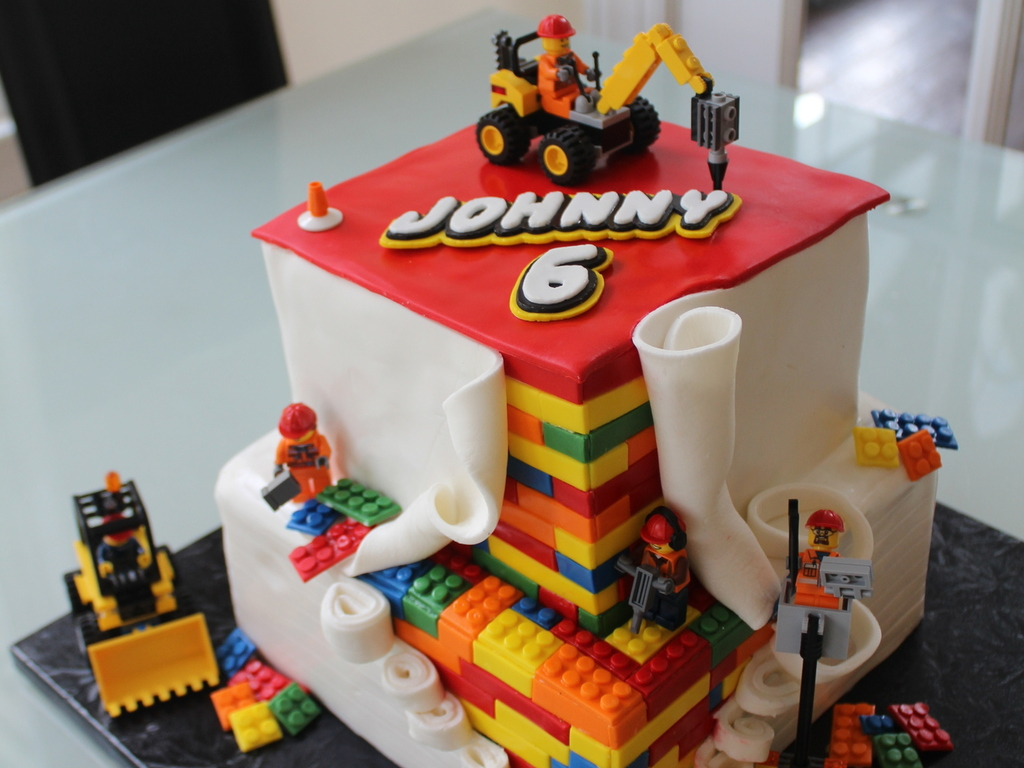 Lego Construction Cakecentral