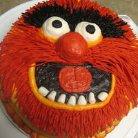 Animal From The Muppets All buttercream