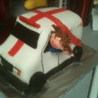 Paramedic My daughter is a paramedic. Chocolate cake and MMF