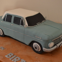 Eh Holden this is actually a cake of my car...just a different colour. was made for my car club here in Adelaide, Australia. was a massive cake and...
