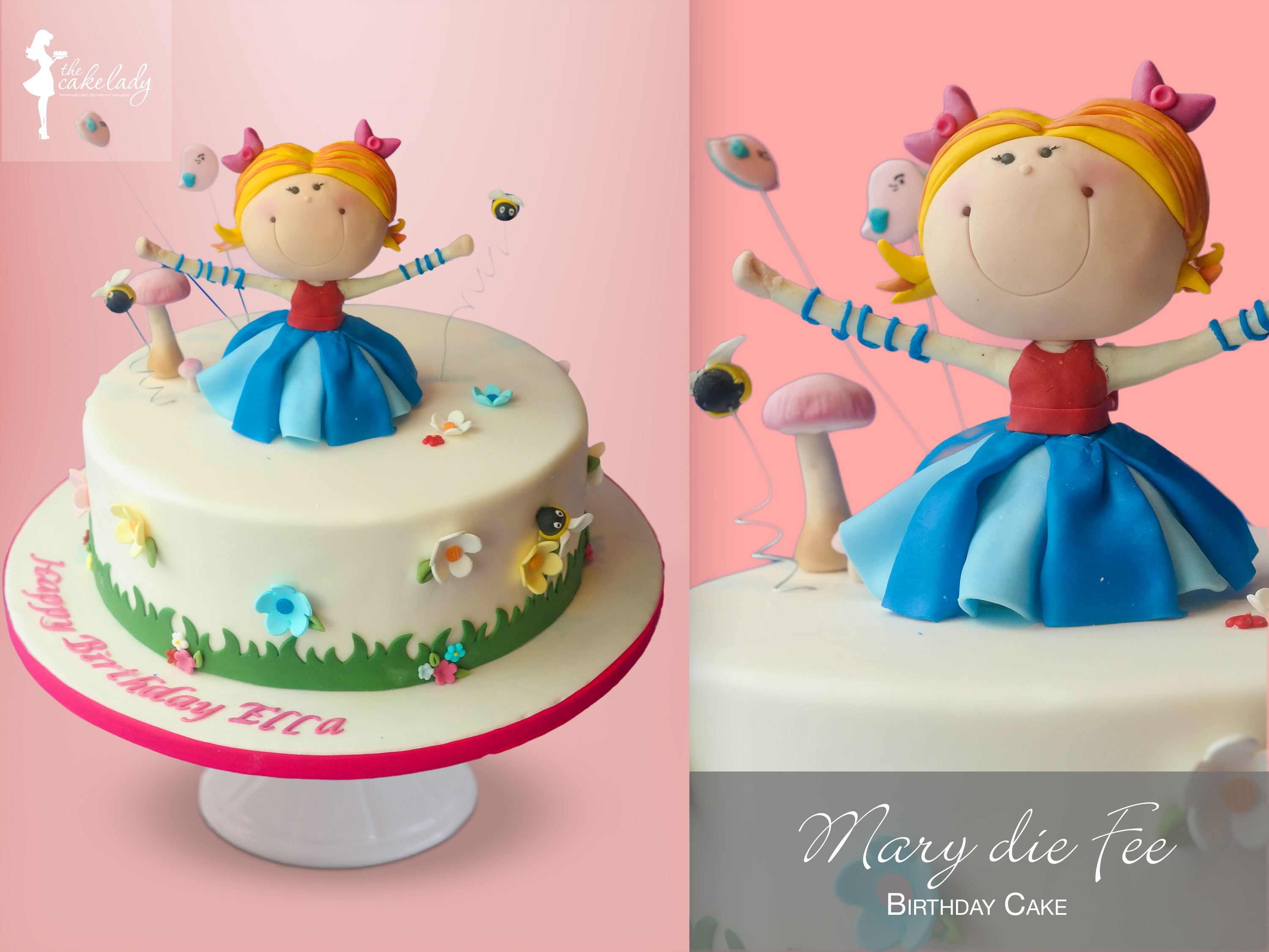 Mary Die Fee I didn't know her before we got this cake request but I love her!