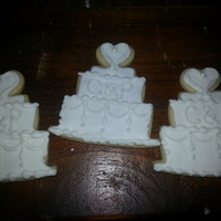 Bridal Shower Cookies!   NFSC cookie recipe with royal icing