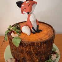 Fox On A Log made this for my daughter, she fell in love with the fox in Carlos' book