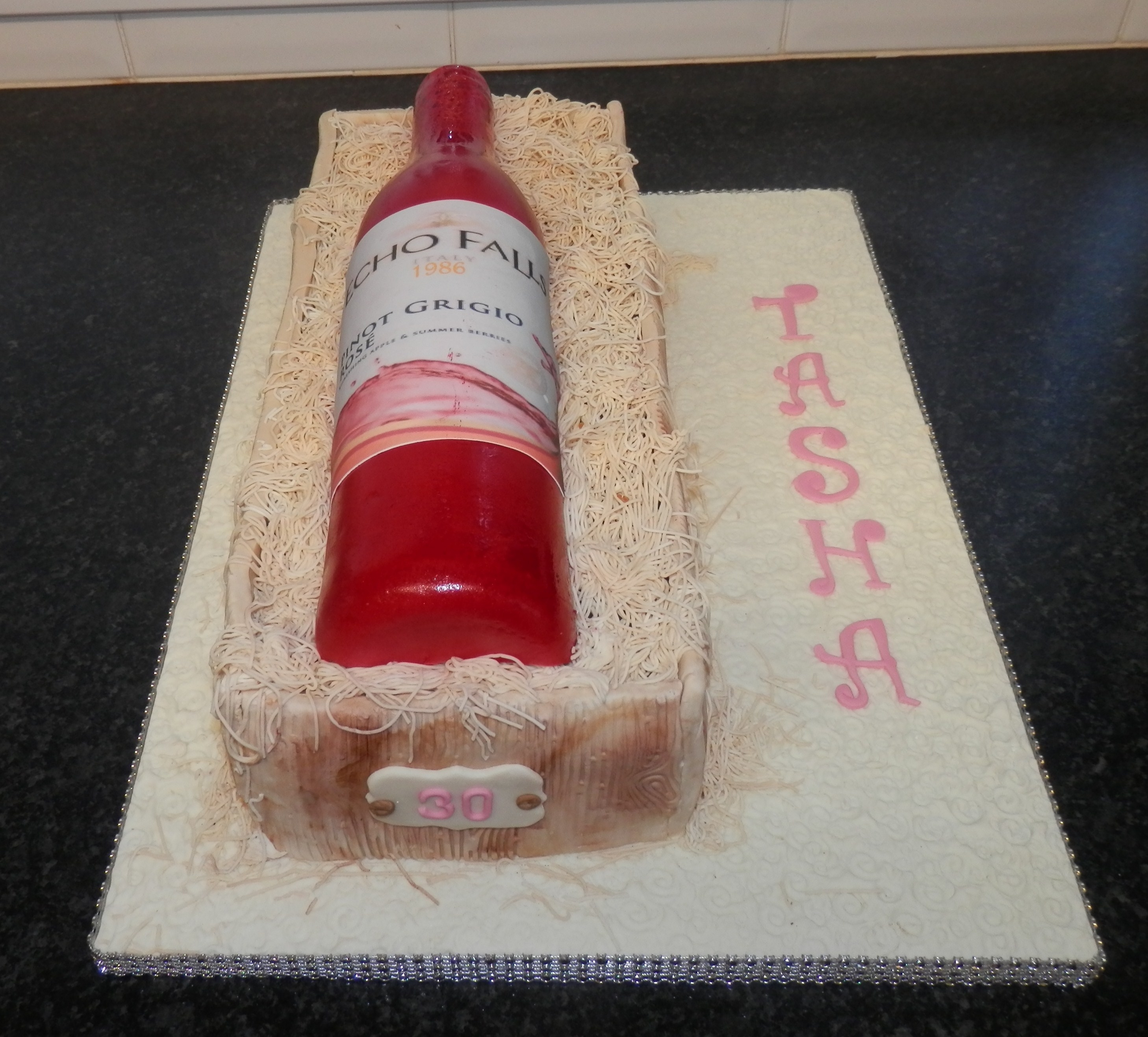 Cake Decorating Wine Bottles : susypots  s Cake Decorating Profile on Cake Central