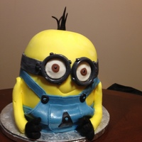 Kevin The Minion I made this for my grandson - WASC, MMF