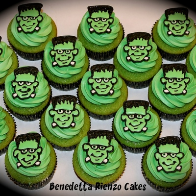 Frankenstein Cupcakes on Cake Central