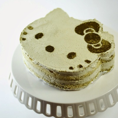 Hello Kitty Matcha Green Tea Tiramisu Cake on Cake Central