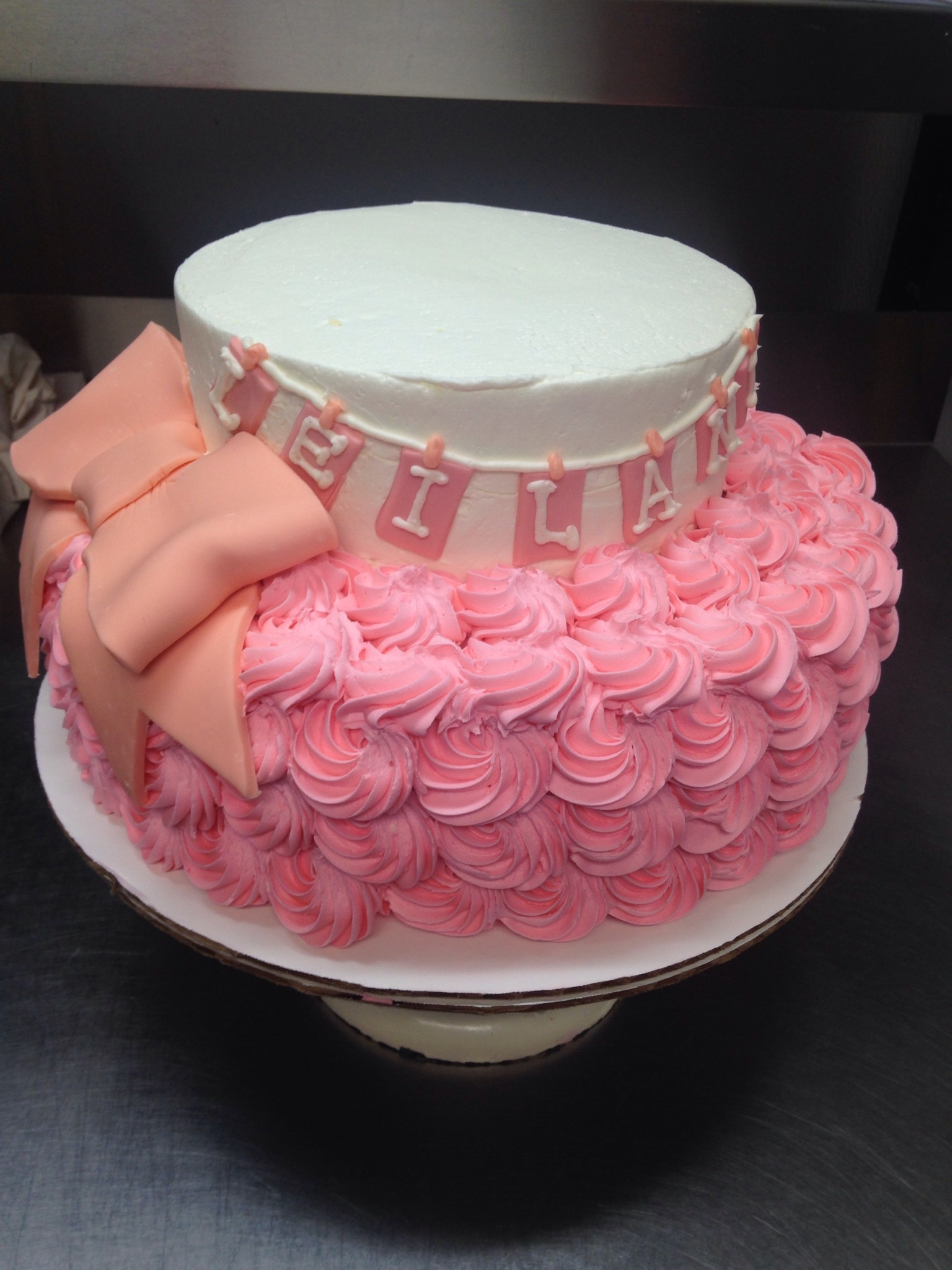 Rosette Cake Decorating Photos