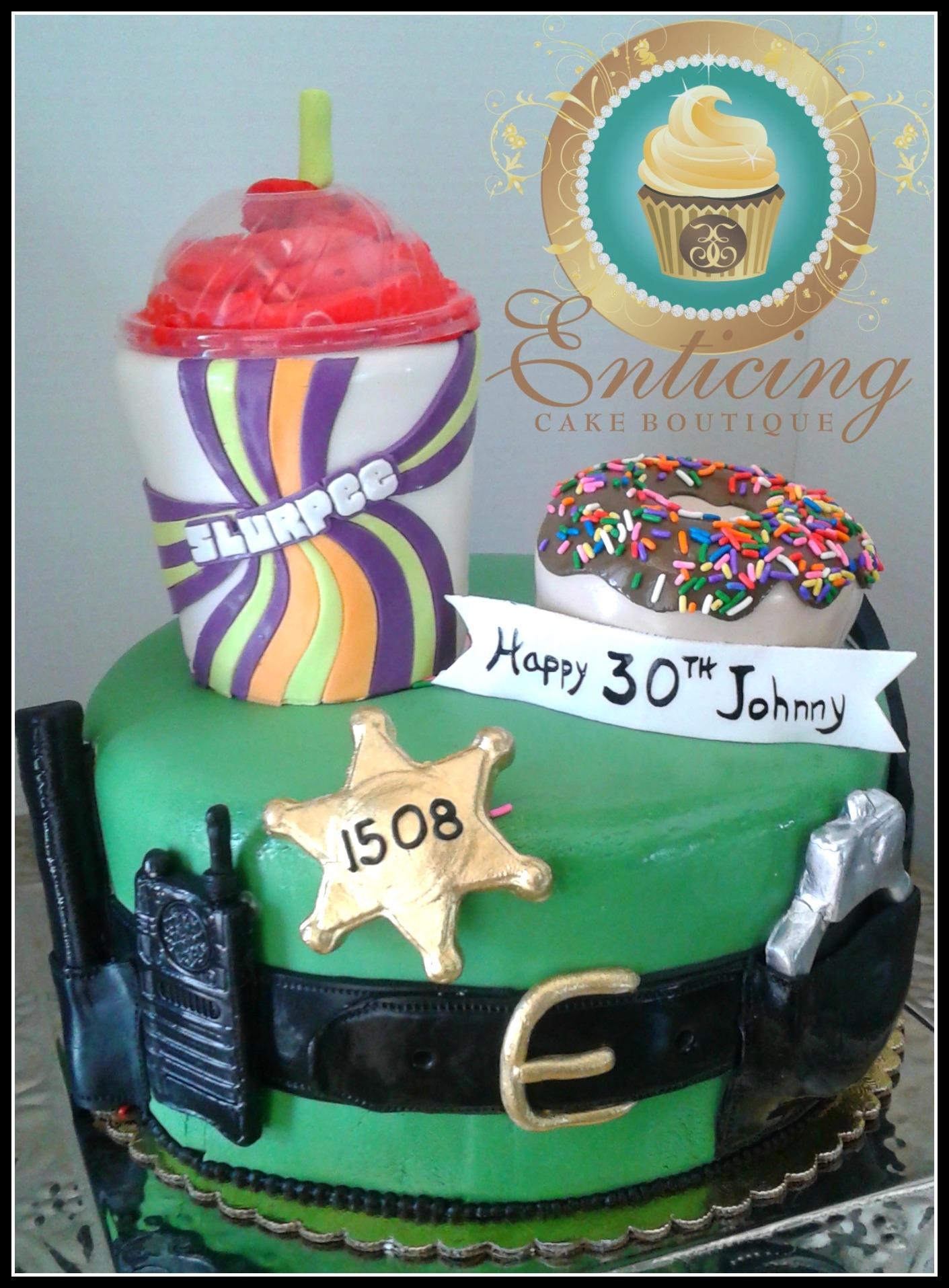 Police Cake Decorating Photos