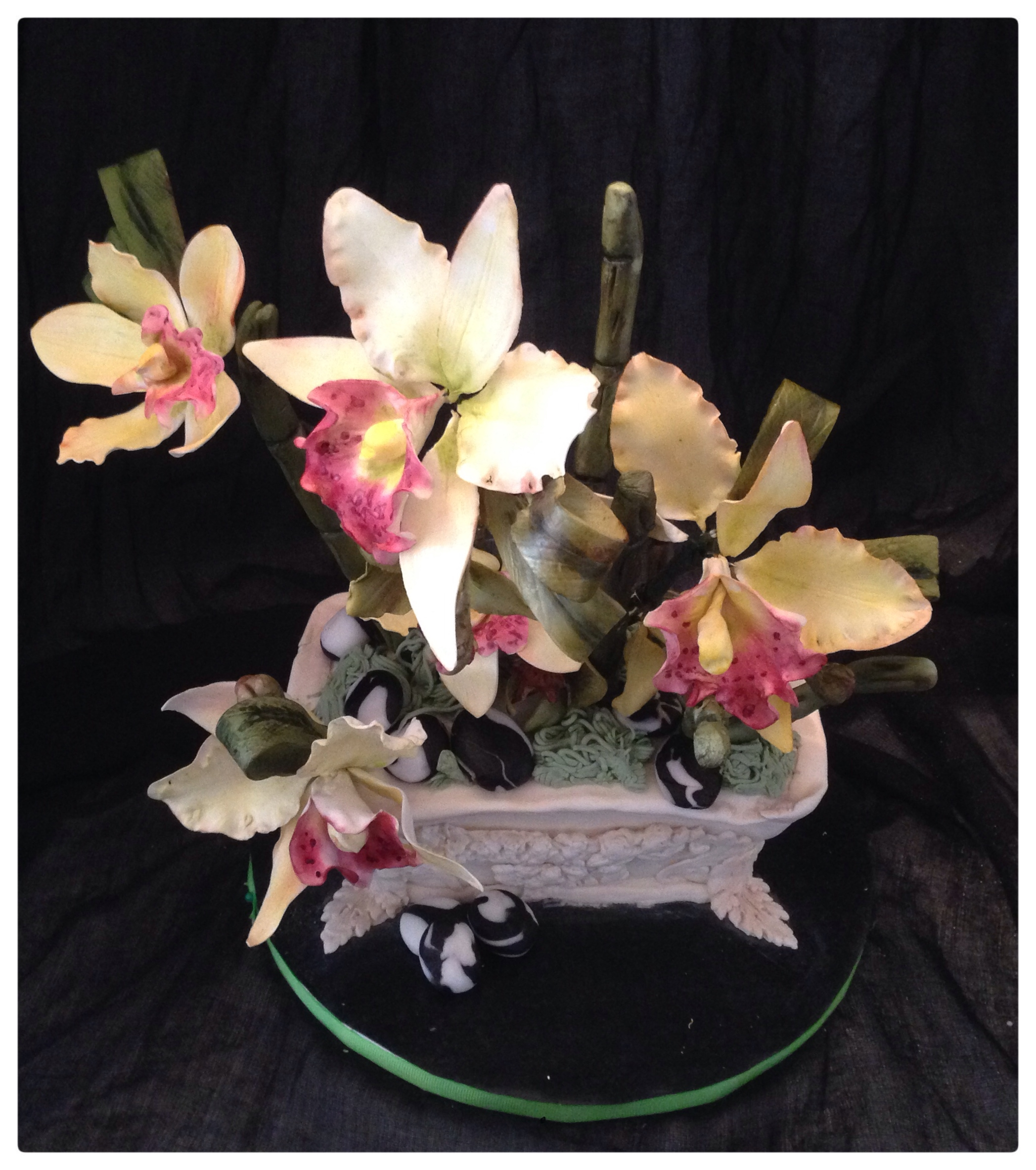 Orchids in bloom cakecentral