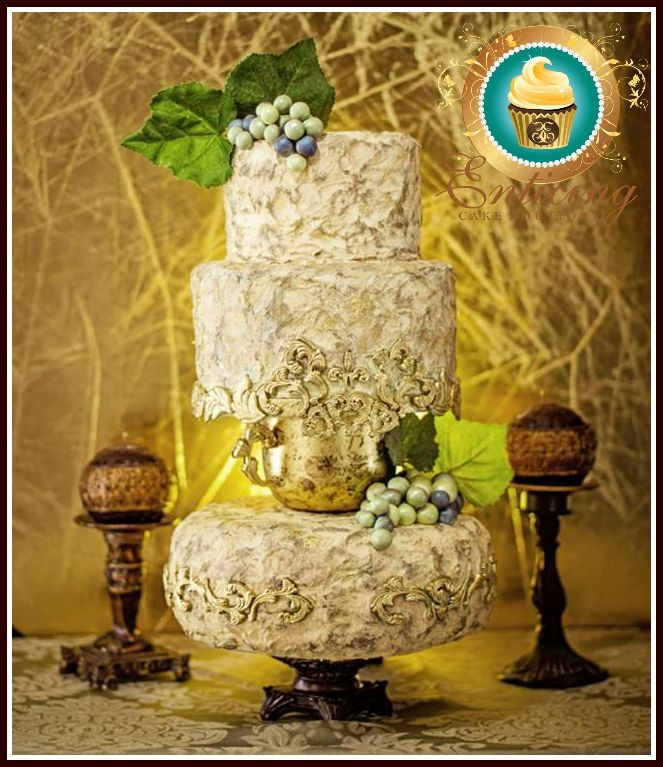 Vineyard Cake *featured* On Cake Central Magazine Adore...