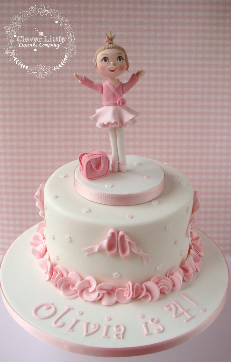 Ballerina Cake Cakecentral Com