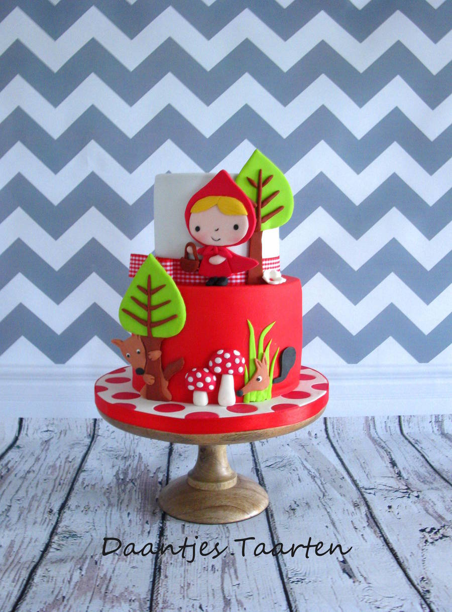 Little Red Ridinghood on Cake Central