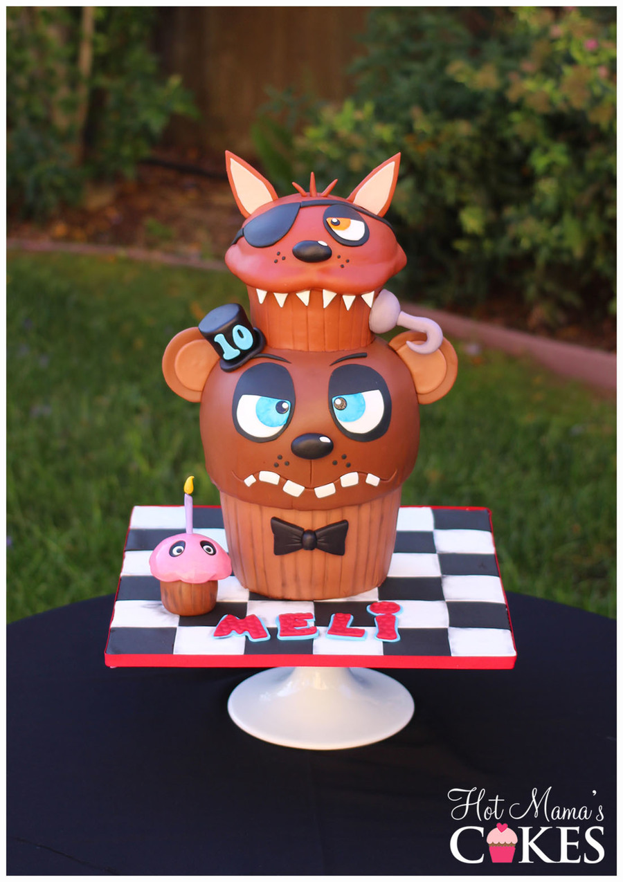 Five Nights At Freddy S Cake Ideas